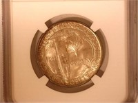 1936 Comm. 50c, Silver 50 Cents San Diego