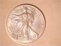 2019 American Eagle, Silver 1 Dollar. 20 QT