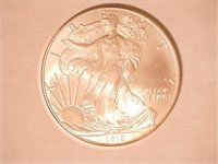 2010 American Eagle, Silver 1 Dollar. 20 QT