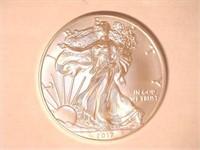 2017 American Eagle, Silver 1 Dollar. 20 QT