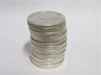 1954 Franklin 50 Cents. 20 QT