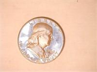 1962 Franklin 50 Cents Proof. 20 QT