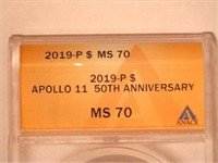 2019 Comm. Silver Apollo 11 50th Anniversary
