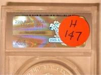 2011 American Eagle, Silver 1 Dollar Burnished