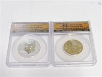2-2018 Lincoln 1 Cent Memorial, 1$ Native American