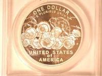 2018 Silver Medal 1 Dollar Army
