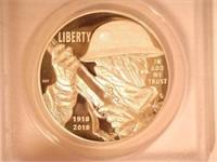 2018 Silver Medal 1 Dollar Marines