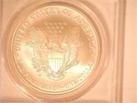 3-2006 American Eagle, Silver 1 Dollar Burnished
