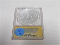 2013 American Eagle, Silver 1 Dollar Burnished