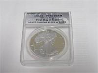 2015 American Eagle, Silver 1 Dollar Proof