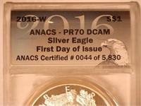 2016 American Eagle, Silver 1 Dollar Proof