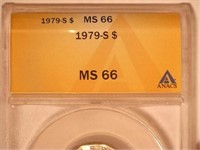1979 Susan B. Anthony 1 Dollar