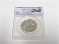 2008 Comm. 50c, Silver 50 Cents Bald Eagle, Clad