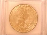 1923 Peace 1 Dollar
