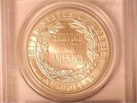 1996 Comm. $1, Silver 1 Dollar