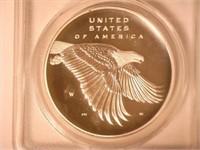 2017 Silver Medal Medallions Enhanced UNC