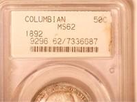 1892 Comm. 50c, World's Columbian Exposition