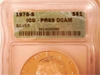 1976 Eisenhower 1 Dollar