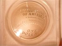2014 Comm $1 Silver National Baseball Hall of Fame
