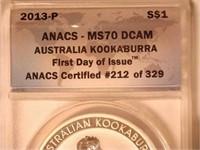 2013 Kookaburra 1 AUD .999 Silver