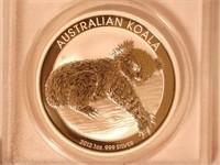 2012 Koala 1 AUD .999 Silver