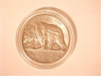 1925 Comm. 50c, Silver 50 Cents California Jubilee