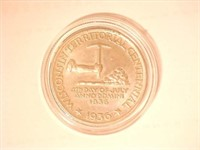 1936 Comm. Silver  Wisconsin Territory Centennial