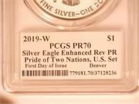 2019 Maple Leaf and American Eagle