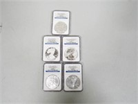 5-2011 American Eagle, Silver 1 Dollar Burnished