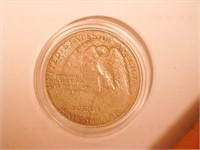 1925 Comm. 50c, Silver 50 Cents Stone Mountain
