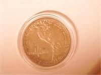 1923 Comm. 50c, Silver 50 Cents Monroe Doctrine