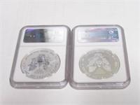 2-2013 American Eagle, Silver 1 Dollar