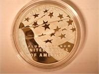 2012 Comm.  Silver 1 Dollar Star-Spangled Banner