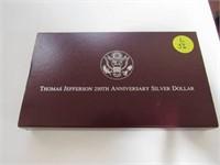 1993 Comm. Thomas Jefferson Birth Anniversary