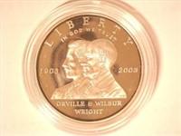 2003 Comm. $1, Silver First Flight Centennial