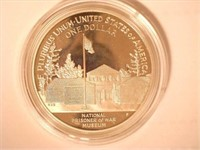 1994 Comm. Silver 1 Dollar U.S. POW Museum, Proof