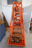 Heavy Duty Clamp Shelf with clamps included