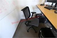 Electronic Riser Desk, Filing Desk, Chair