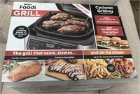 C - NEW NINJA FOODIE GRILL CYCLONIC GRILLING