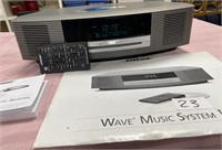 23 -BOSE WAVE MUSIC SYSTEM III W/BLUETOOTH ADAPTER