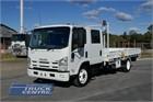 2009 Isuzu NQR 450 Crew Crane Truck