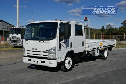 2009 Isuzu NQR 450 Crew Murwillumbah Truck Centre - Trucks for Sale