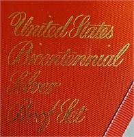 US BICENTENNIAL SILVER PROOF SET (101)