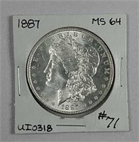 August Online-only Coin & Currency Auction