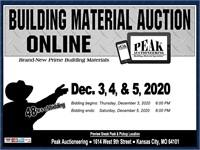 KC December 2020 Peak Building Material Auction