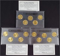 1999-2000-2001 - STATE QUARTER COLLECTION (128)