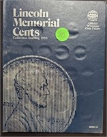 LINCOLN MEMORIAL CENTS BOOK (127)
