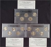 1999-2000-2001 - STATE QUARTER COLLECTION (124)