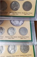 LOT OF AMERICAN NICKELS OF THE 20TH CENTURY (122)