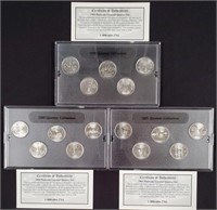 1999-2000-2001 - STATE QUARTER COLLECTION (133)